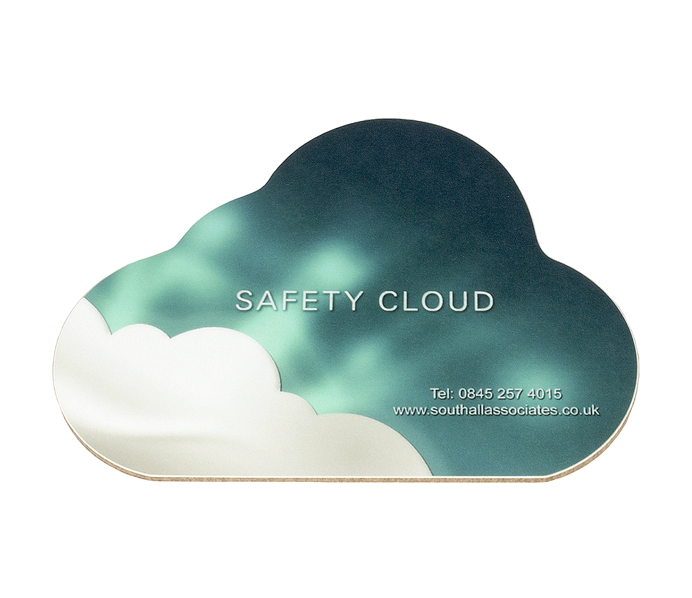 Image of Bespoke Cloud Shaped Coaster