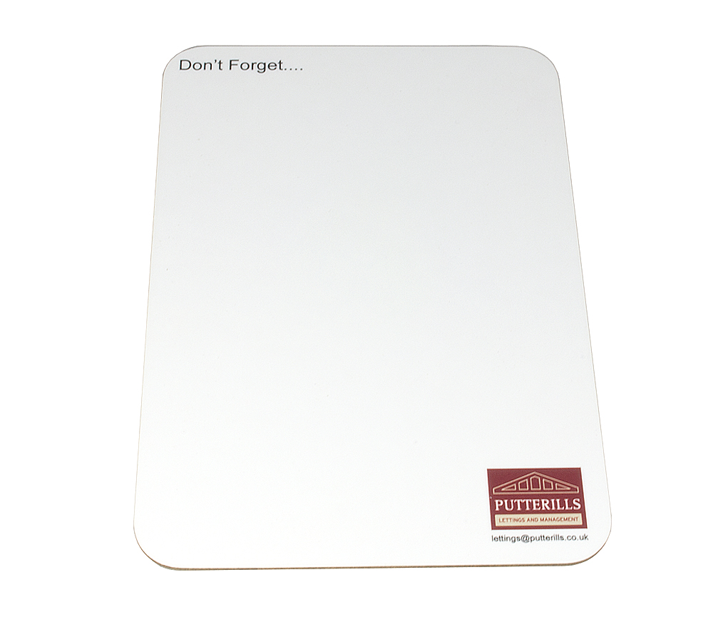 Image of Medium Portrait Melamine Wipe Board